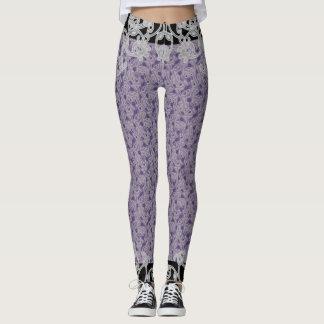 Purple Midnight ~ Leggings