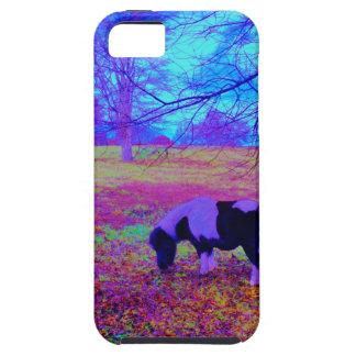 Purple miniature horse tough iPhone 5 case