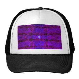 Purple Modern Textured Pattern Design Hat