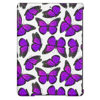 Purple Monarch Butterfly Pattern iPad Air Case