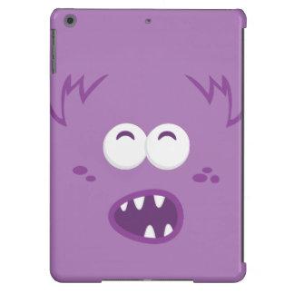Purple Monster Face iPad Case