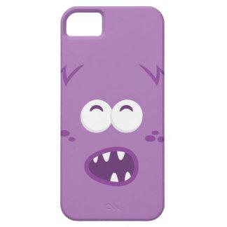 Purple Monster Face iPhone Case iPhone 5/5S Case