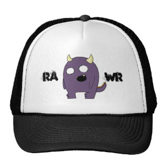 Purple Monster Trucker Hat