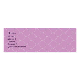 Purple Monster - Skinny Pack Of Skinny Business Cards