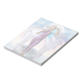 Purple Moon Fairy Notepad