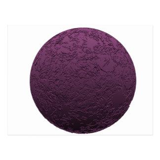 Purple Moon Postcard