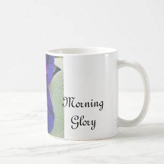 Purple Morning Glory flower Mug Basic White Mug