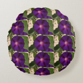 Purple Morning Glory Pillow