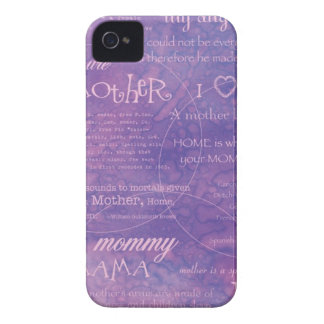 purple mothers day iPhone 4 covers