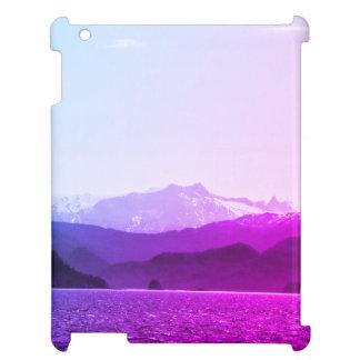 Purple Mountains Ipad Case