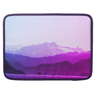 Purple Mountains Macbook Sleeve