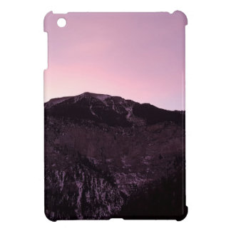 Purple mountains majesty iPad mini case