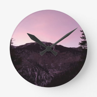 Purple mountains majesty wallclocks
