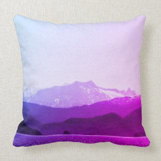 Purple Mountains Pillow