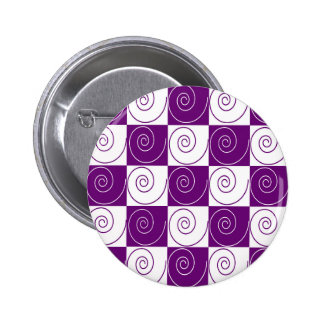 Purple Mousey Tails 6 Cm Round Badge
