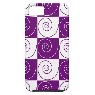 Purple Mousey Tails iPhone 5 Covers