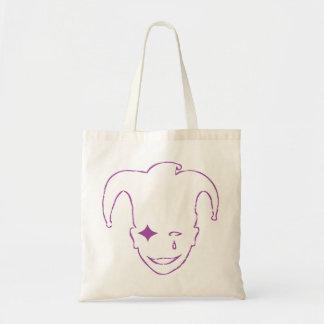 Purple MTJ Budget Tote Bag