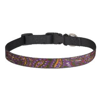 Purple Multi-Color Dog Collar