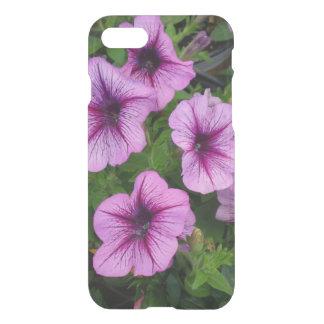 Purple Mum Flowers Iphone 7 Case