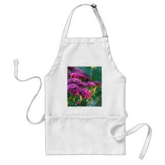 Purple Mums Flowers Aprons