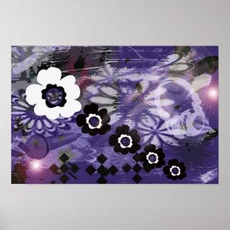 purple music poster