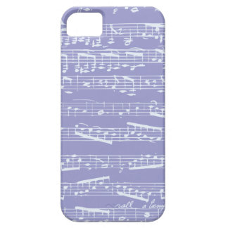 Purple Musical Notes iphone 5 case