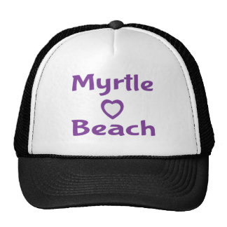 Purple Myrtle Beach South Carolina Baseball Hat