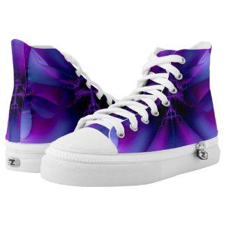 Purple Mystic Printed Shoes