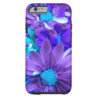 Purple N Turquoise Bouquet iPhone 6 case