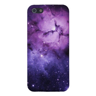 Purple Nebula: iPhone 5/5S Case