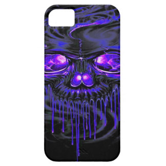 Purple Nerpul Skeletons Barely There iPhone 5 Case