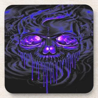 Purple Nerpul Skeletons Coaster