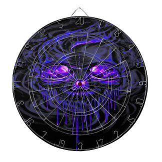 Purple Nerpul Skeletons Dartboard