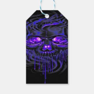 Purple Nerpul Skeletons Gift Tags