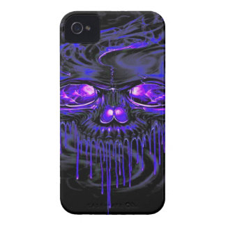 Purple Nerpul Skeletons iPhone 4 Case-Mate Cases