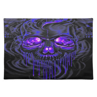 Purple Nerpul Skeletons Placemat
