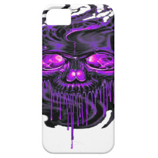 Purple Nerpul Skeletons PNG Barely There iPhone 5 Case