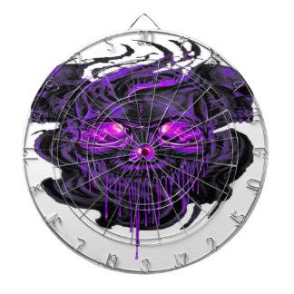 Purple Nerpul Skeletons PNG Dartboard
