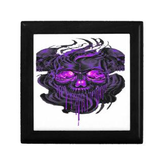 Purple Nerpul Skeletons PNG Gift Box