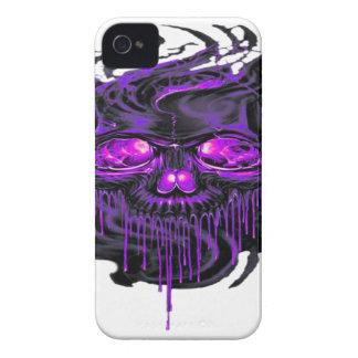 Purple Nerpul Skeletons PNG iPhone 4 Case-Mate Case