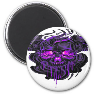 Purple Nerpul Skeletons PNG Magnet
