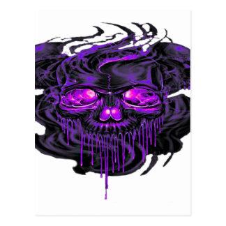 Purple Nerpul Skeletons PNG Postcard