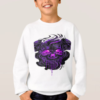 Purple Nerpul Skeletons PNG Sweatshirt