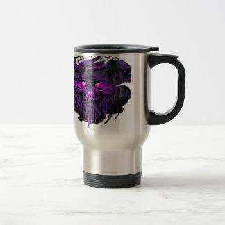 Purple Nerpul Skeletons PNG Travel Mug