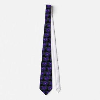 Purple Nerpul Skeletons Tie