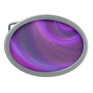 Purple night storm belt buckle