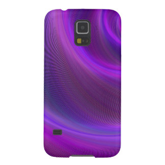 Purple night storm case for galaxy s5
