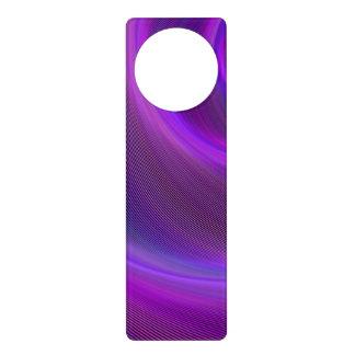 Purple night storm door knob hangers