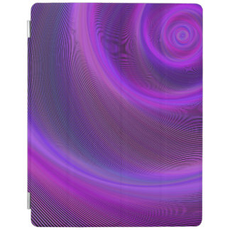 Purple night storm iPad cover