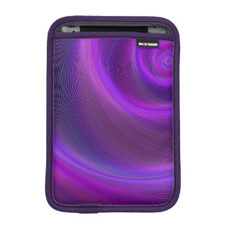 Purple night storm iPad mini sleeve